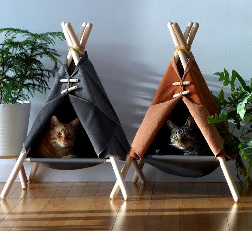 Каким может быть кошачий домик